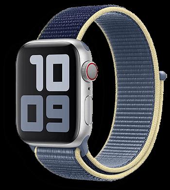 Apple Watch Szövet Szíj alaskan blue kék színben. 38mm 40mm 42mm 44mm apple watch órához